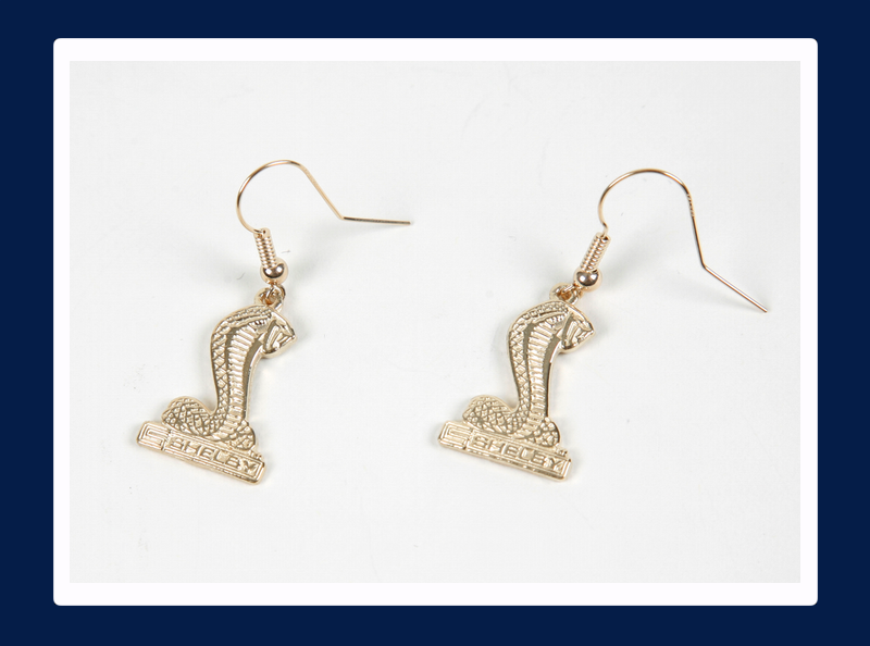 Shelby Snake 10k Gold Earrings (Out of stock)