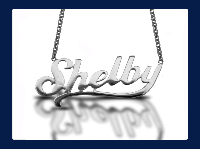 The 'Shelby' Necklace Sterling Silver (Out of stock)