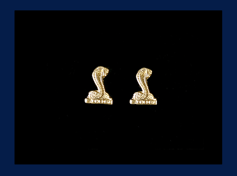 Gold Plated Shelby Post Earrings